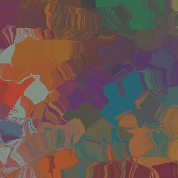 Abstract Subdued Colors 1 by braveevolver