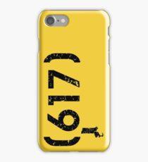 Area Code 617 Massachusetts iPhone Case/Skin