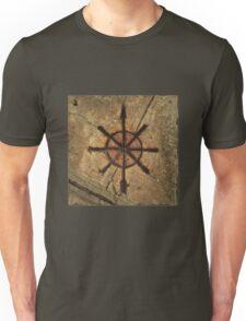 sidewalk compass Unisex T-Shirt