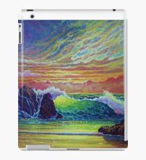 Red Skies at Sunset iPad Case/Skin