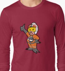 Leave it to Porkins  Long Sleeve T-Shirt