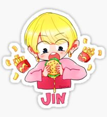 BTS JIN EATJIN Sticker