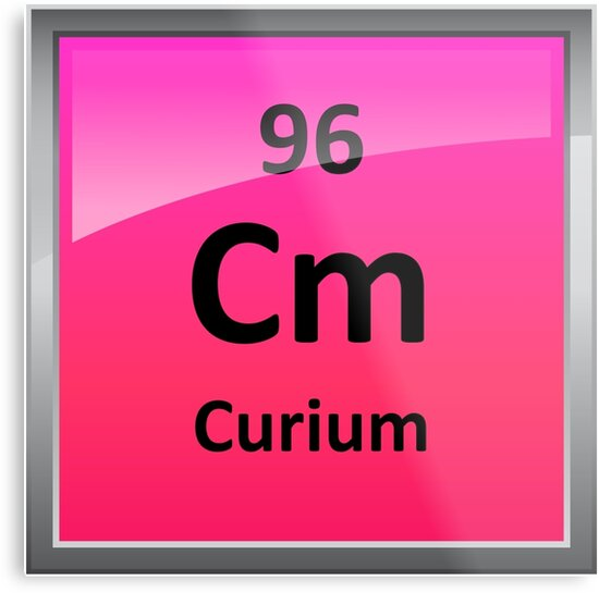 Curium periodic table element symbol metal prints by sciencenotes curium periodic table element symbol by sciencenotes urtaz Gallery