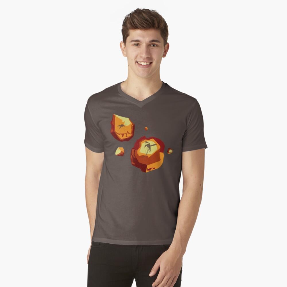 Dino Gems V-Neck T-Shirt