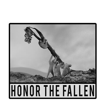 Honor the Fallen - Sloth Iwo Jima by Imaginals