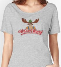 National Lampoon's - Walley World Logo HD Women's Relaxed Fit T-Shirt