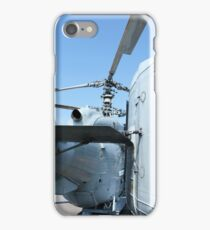 Attack helicopter rear view iPhone Case/Skin
