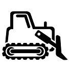 Bulldozer by ACImaging