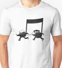 Chase scene music. T-Shirt