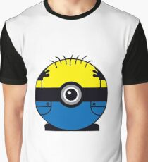 Minion Pokemon Ball Mash-up Graphic T-Shirt