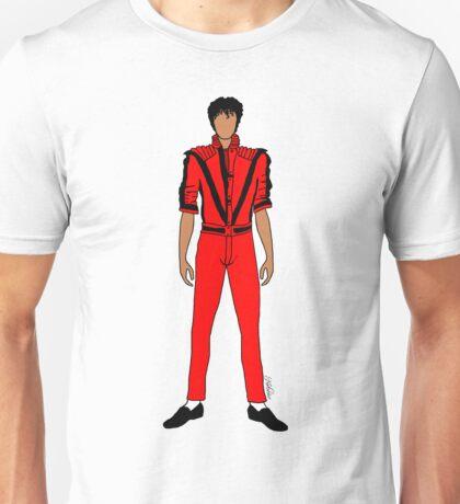 Thriller Red Jackson Unisex T-Shirt