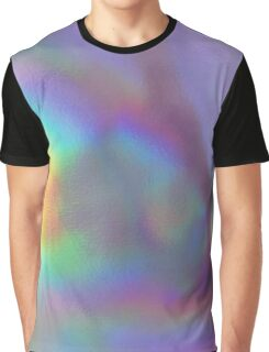 Holographic texture Graphic T-Shirt