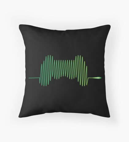 Gamer Heartbeat Throw Pillow