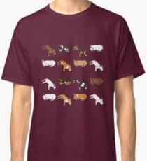Lazy Bull Terrier - White Classic T-Shirt