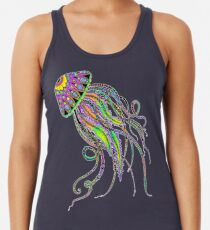 Electric Jellyfish Racerback Tank Top