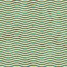 Seamless Grunge Waved Background by Olga Altunina