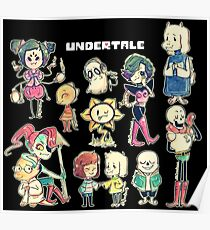 Undertale Chars Poster