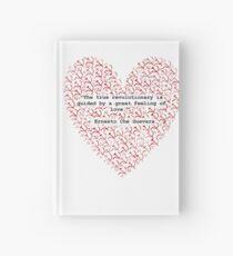 Revolutionary Love Che Guevara Heart Hardcover Journal