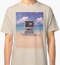 Camiseta clásica Vaporwave Macintosh - Sin texto