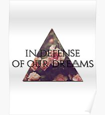 In Defense of Our Dreams Poster