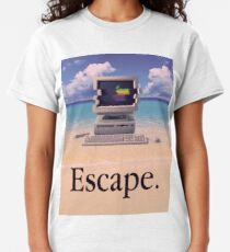 Vaporwave Macintosh Classic T-Shirt