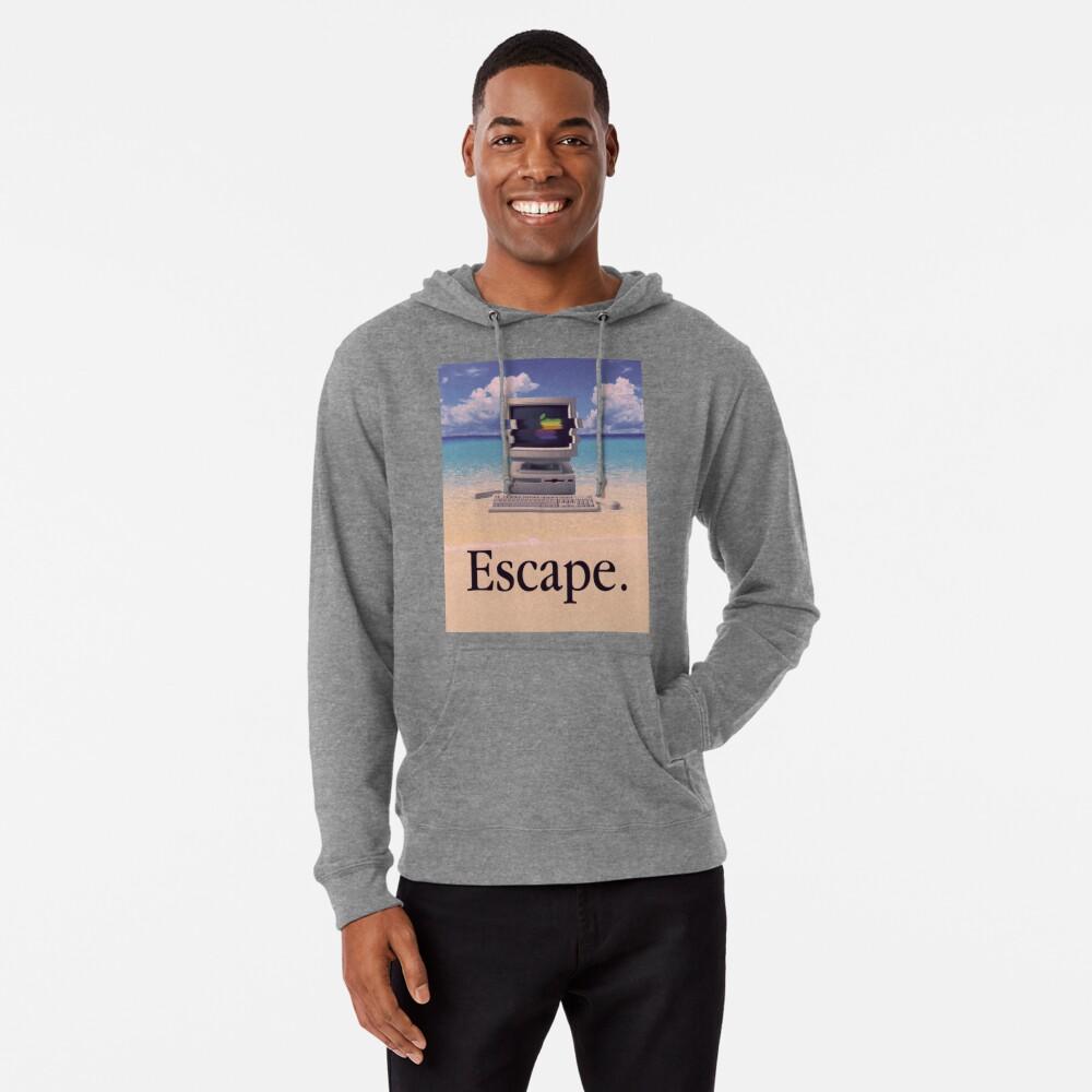 Vaporwave Macintosh Sudadera con capucha ligera