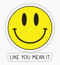 smile like you mean it - the killers Sticker