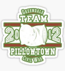 Team Pillowtown Sticker
