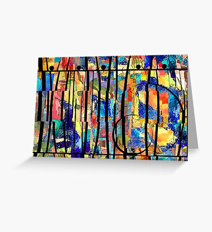 Abstract 238 Greeting Card