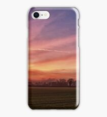 Countryside Sunset Skies iPhone Case/Skin