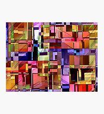 Artificial Boundaries Photographic Print