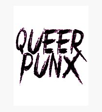 QUEER PUNX Photographic Print