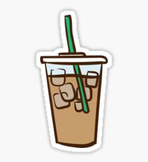 Iced Coffee 1 Sticker
