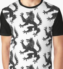Wolf chest Graphic T-Shirt