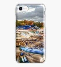 At the Marina HDR iPhone Case/Skin