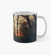 English Countryside Sunset HDR  Mug