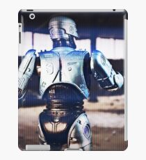 Robocop in action iPad Case/Skin