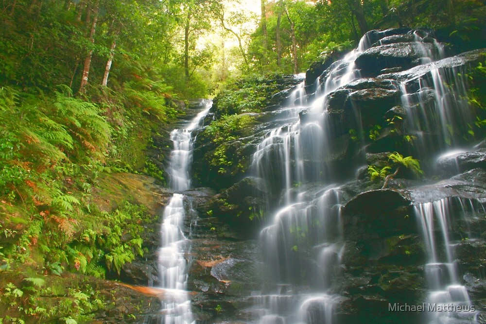 Sylvia Falls .. top section by Michael Matthews