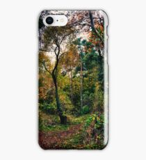 Forest Trees HDR iPhone Case/Skin