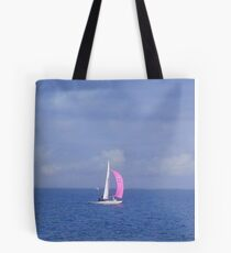 Sailing off Brighton - Victoria - Australia Tote Bag