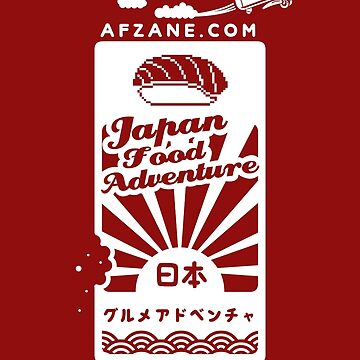 Japan Food Adventure Game by afzainizam