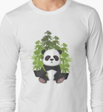 High panda Long Sleeve T-Shirt