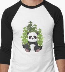 High panda Baseball ¾ Sleeve T-Shirt