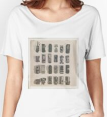 line them up Women's Relaxed Fit T-Shirt