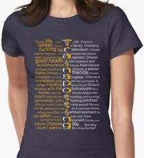 Trainspotting 2.0 Women's Fitted T-Shirt