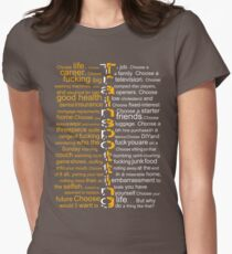 Trainspotting 2.0 Womens Fitted T-Shirt