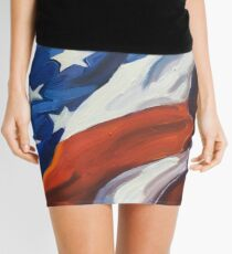 American Flag - Country First Mini Skirt