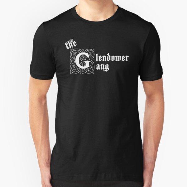 The Glendower Gang (White) Slim Fit T-Shirt
