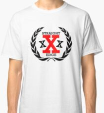 XXX Straight edge Radical Classic T-Shirt