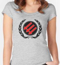 Antifascist Women's Fitted Scoop T-Shirt